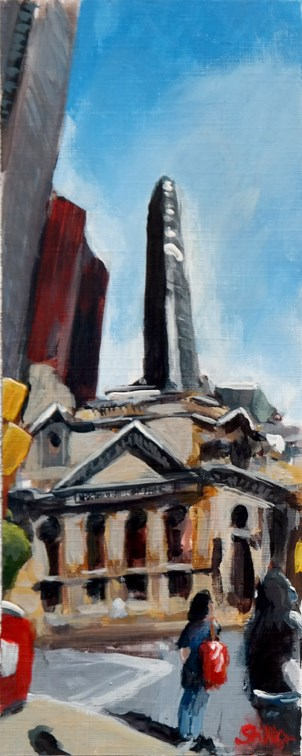 """1826 Toronto Vertical"" original fine art by Dietmar Stiller"