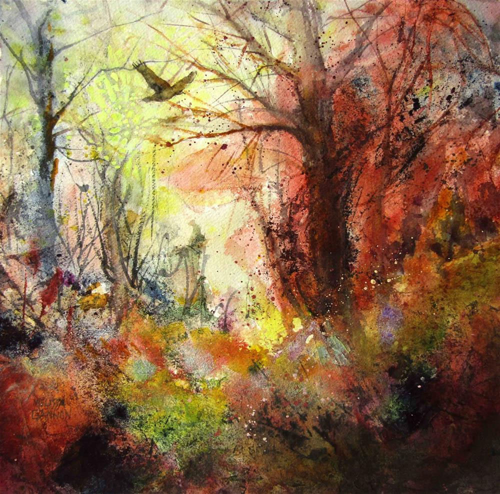 """Magic & Woods"" original fine art by Melissa Gannon"