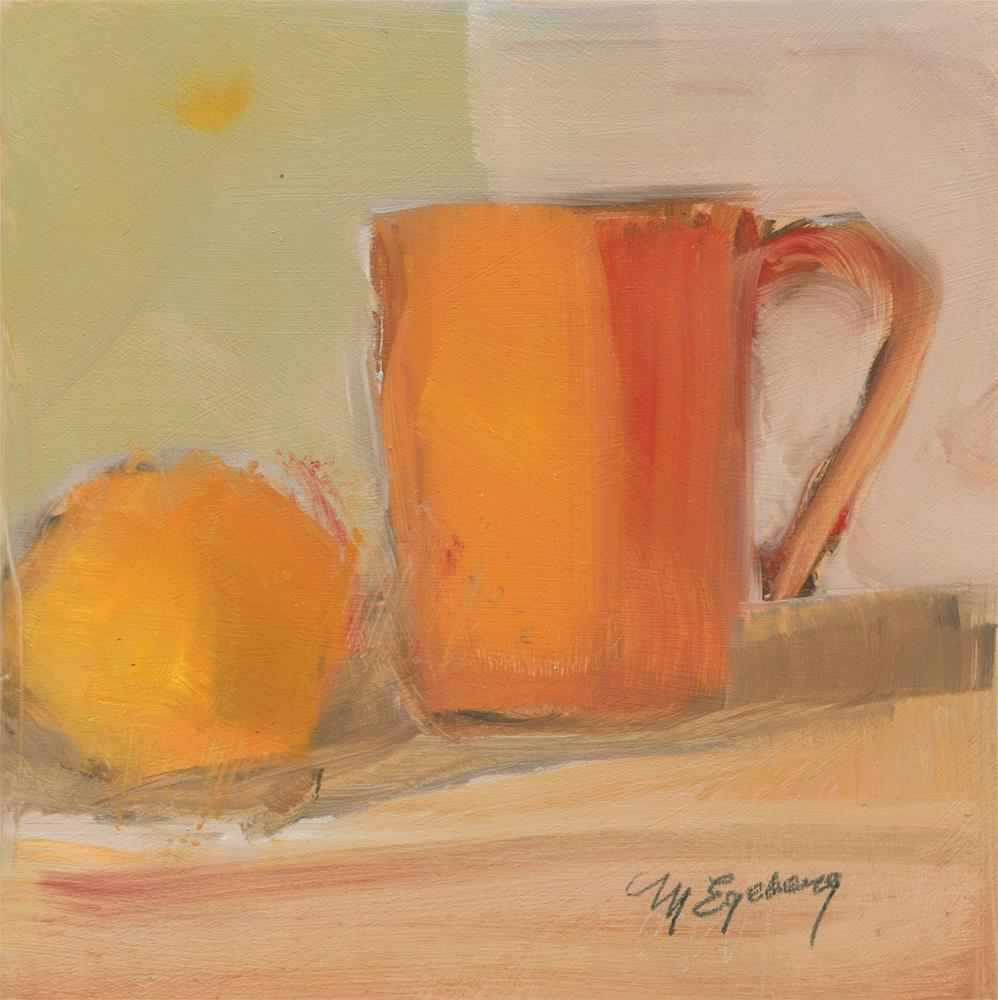 """Orange Alike"" original fine art by Mitch Egeberg"