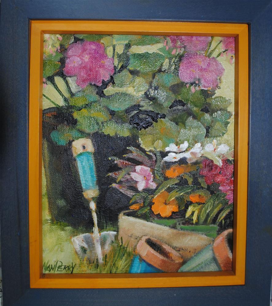 """""""Spring Fever"""" original fine art by Nan Perry"""