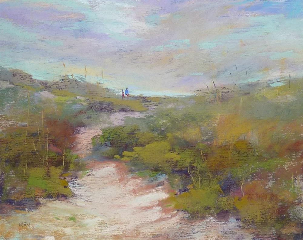 """Storing Pastel Paintings Part 2...and Spring Studio Sale!"" original fine art by Karen Margulis"