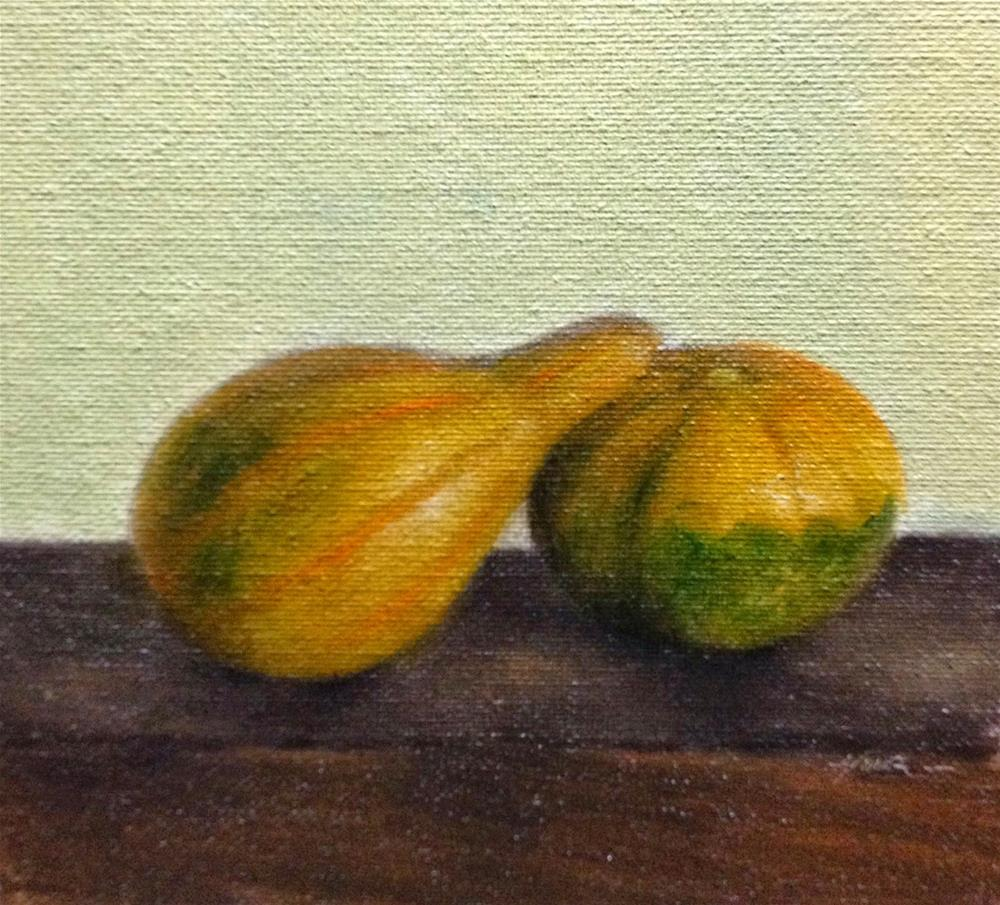 """Gourds"" original fine art by Jonathan Aller"