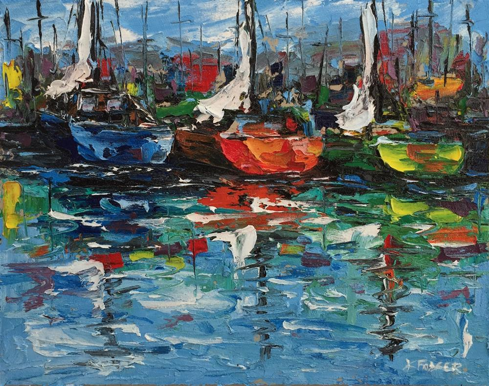 """""""Floating Color"""" original fine art by Ken Fraser"""