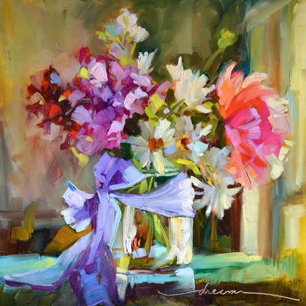 """""""Leaning Into JOY…and Marco Island Workshops II & III"""" original fine art by Dreama Tolle Perry"""