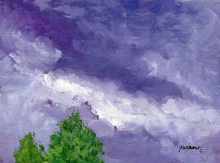 """""""Short series from July 28th"""" original fine art by Sue Furrow"""