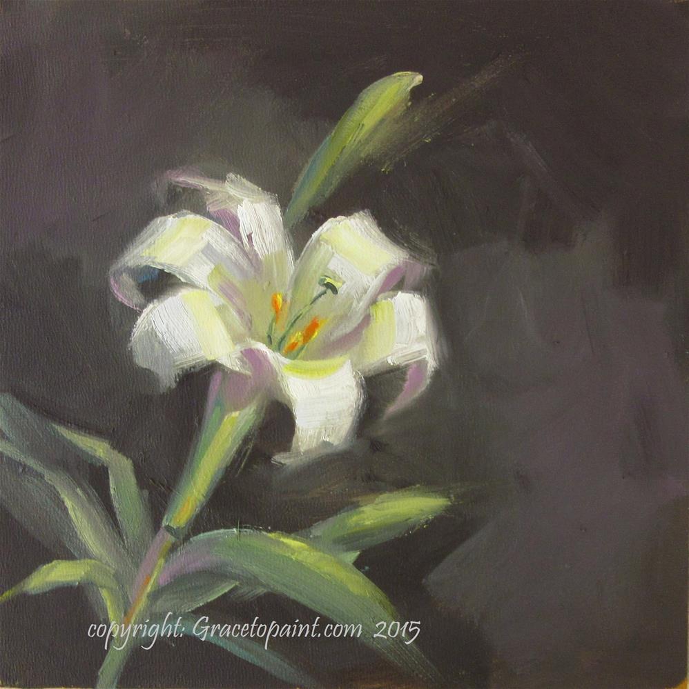 """Lily"" original fine art by Maresa Lilley"