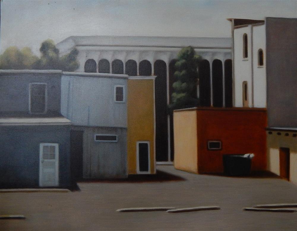"""My Downtown"" original fine art by Megan Schembre"