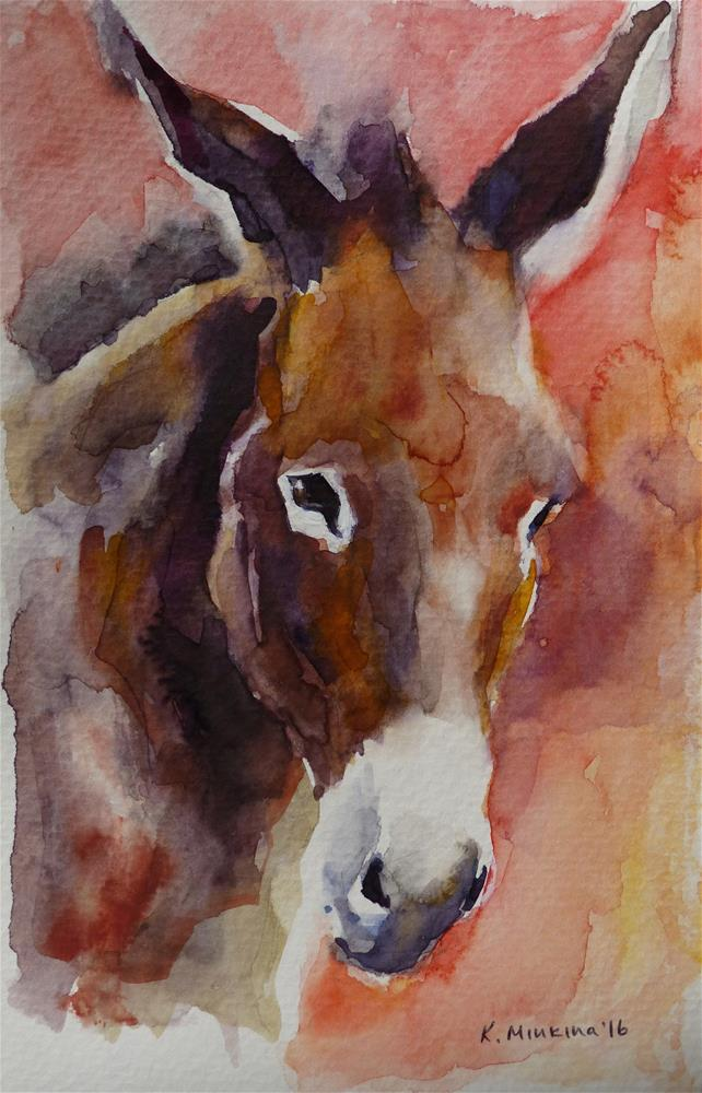 """leilanisanctuary15"" original fine art by Katya Minkina"
