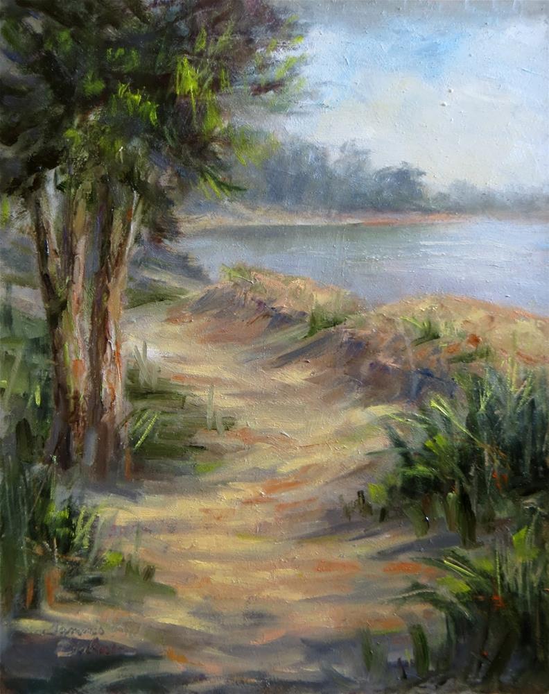 """Beach Path"" original fine art by Tammie Dickerson"