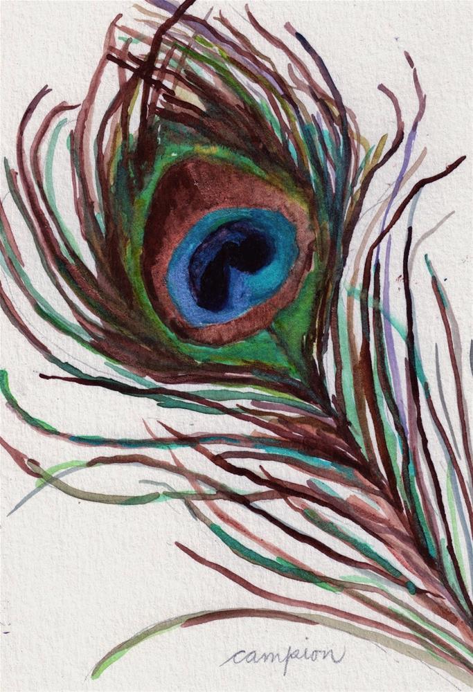 """384 Proud"" original fine art by Diane Campion"