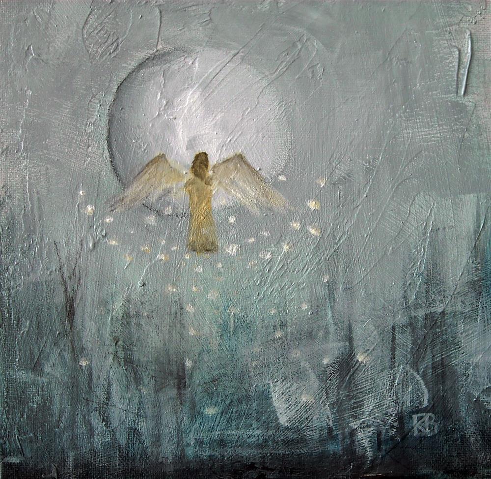 """Rising Hope"" original fine art by Kathleen Barnes"