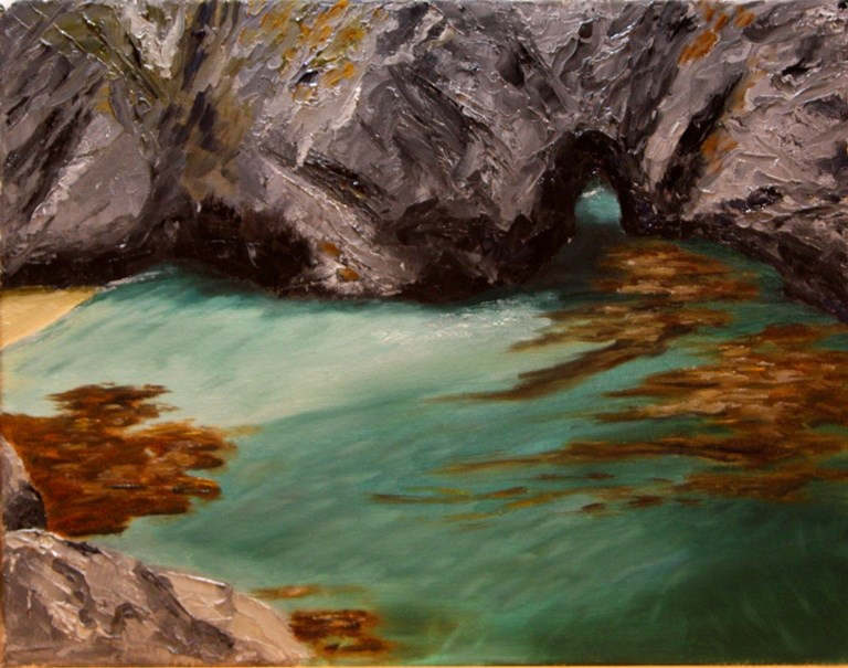 """China Cove"" original fine art by Mary Datum"