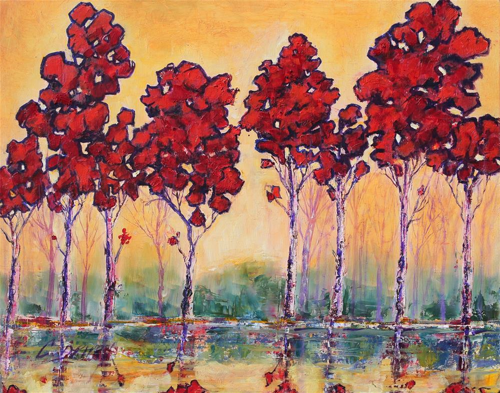 """""""Magical Forest"""" original fine art by Colleen Drury"""