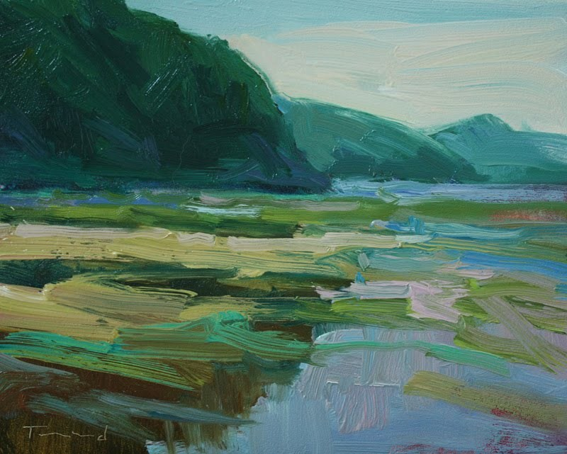 """Spencer Cove"" original fine art by Kathryn Townsend"
