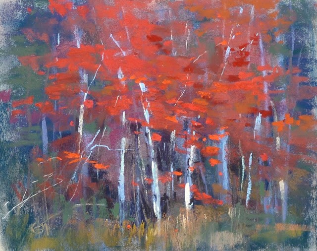 """How to Start a Landscape Painting from an Abstract"" original fine art by Karen Margulis"