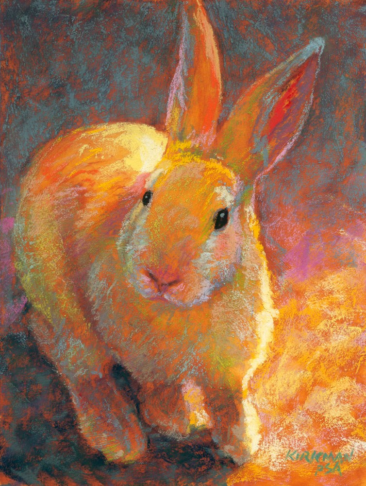 """Brightie"" original fine art by Rita Kirkman"