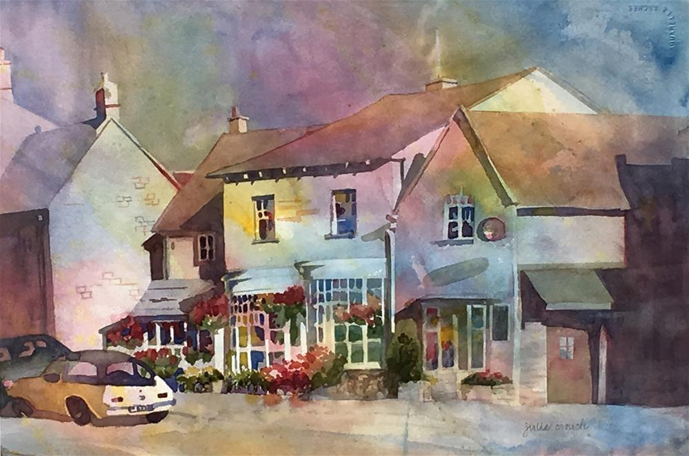 """The Cotswolds"" original fine art by Julie Crouch"