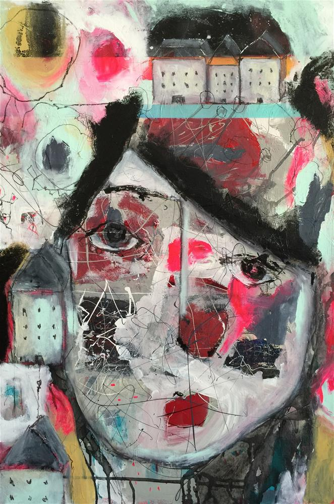 """Neighborhood"" original fine art by Jenny Doh"