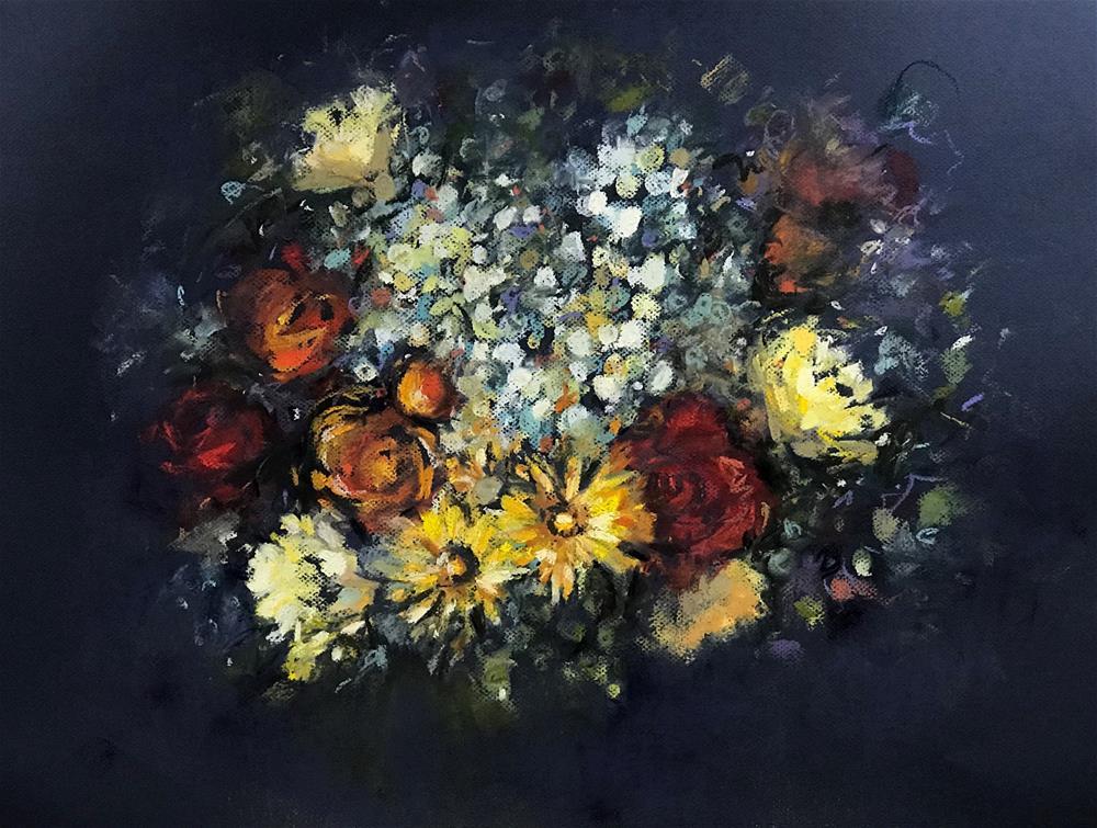 """Keeping It Together"" original fine art by Maryann Didriksen"