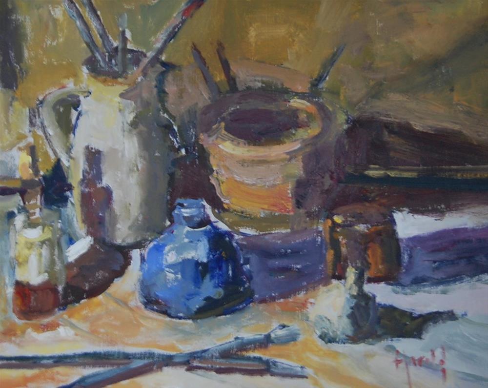 """""""Light on Objects"""" original fine art by Deborah Harold"""