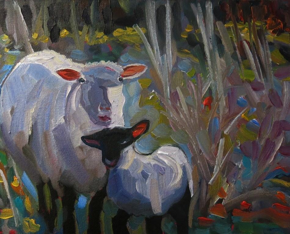 """""""SUNSHINE"""" original fine art by Dee Sanchez"""
