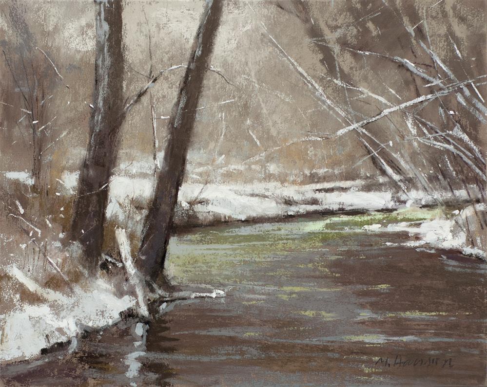 """""""2-23-1 South Boulder Creek"""" original fine art by Marc Hanson"""
