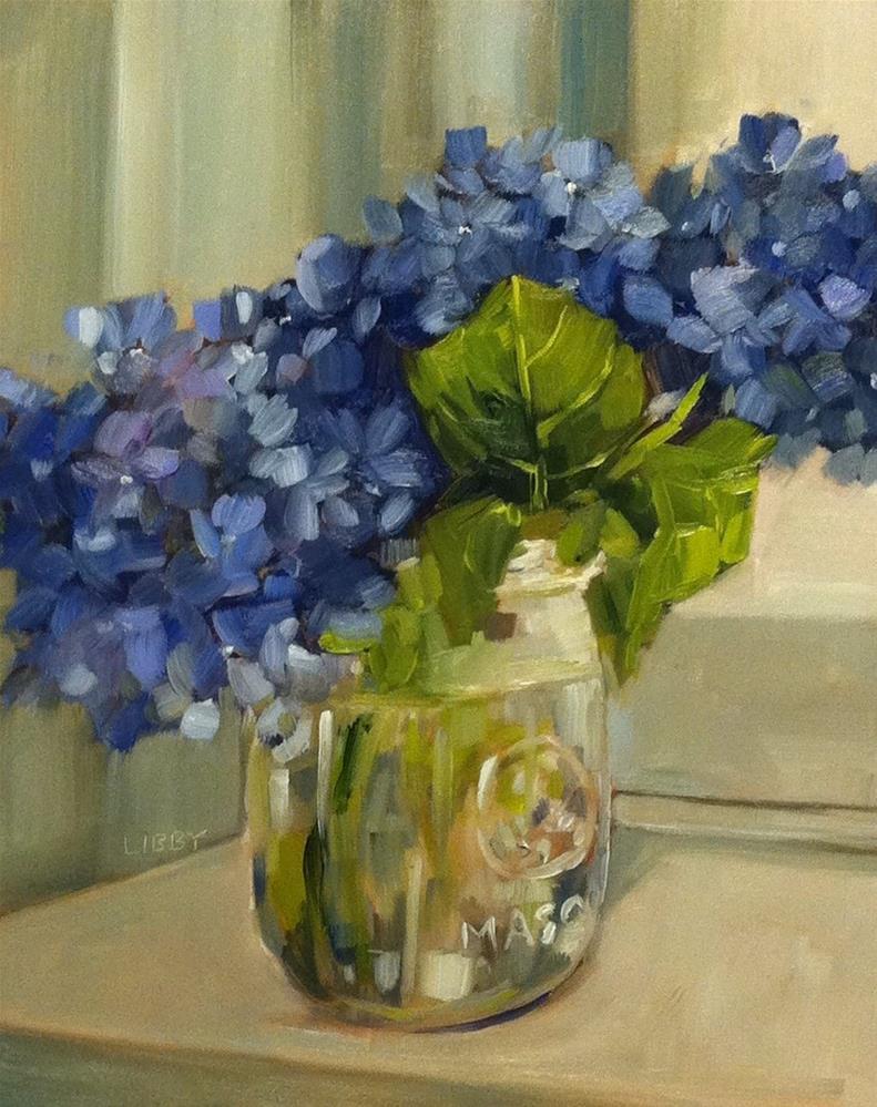 """Corner Window"" original fine art by Libby Anderson"