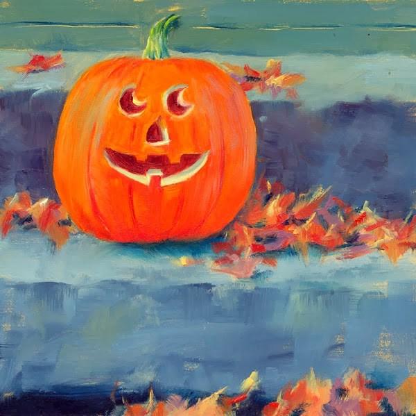 """""""Jill-O-Happy"""" original fine art by Brenda Ferguson"""