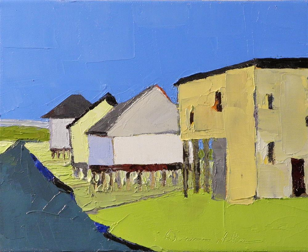 """Coastal Living III"" original fine art by Donna Walker"