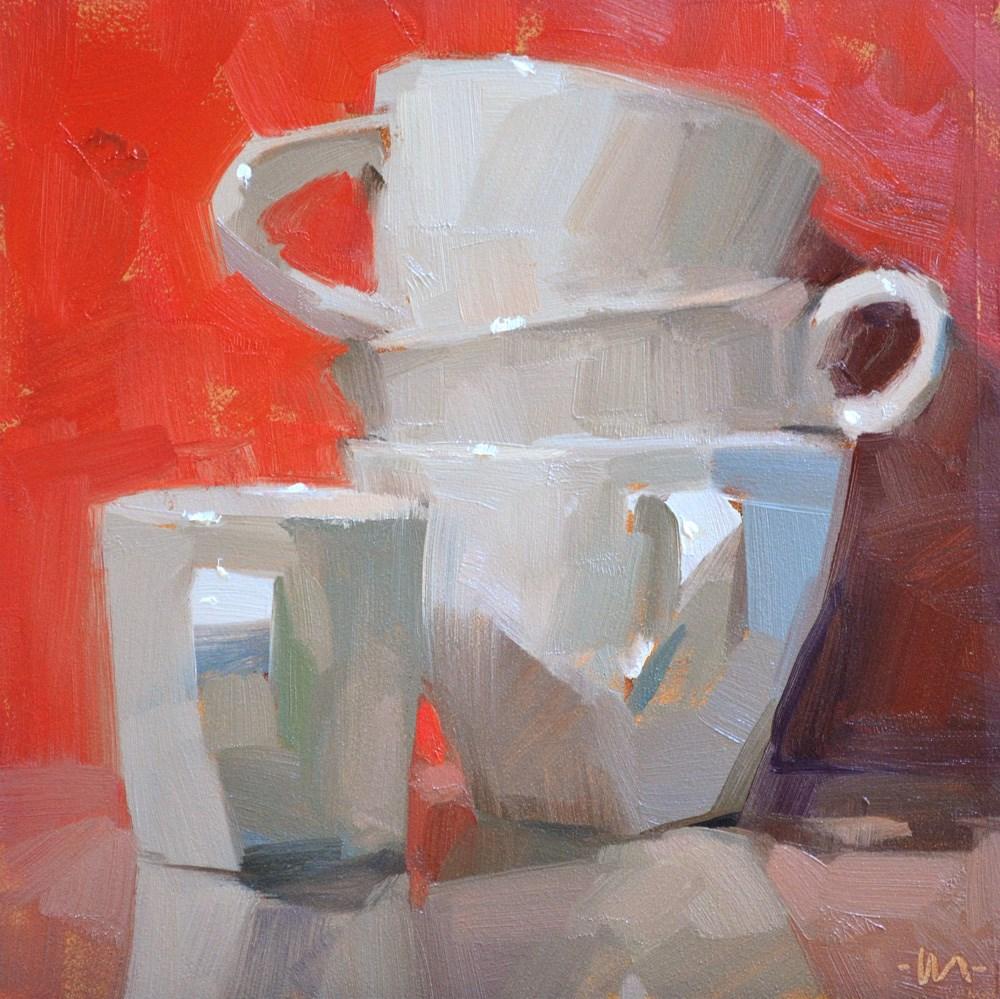 """The Red Room"" original fine art by Carol Marine"
