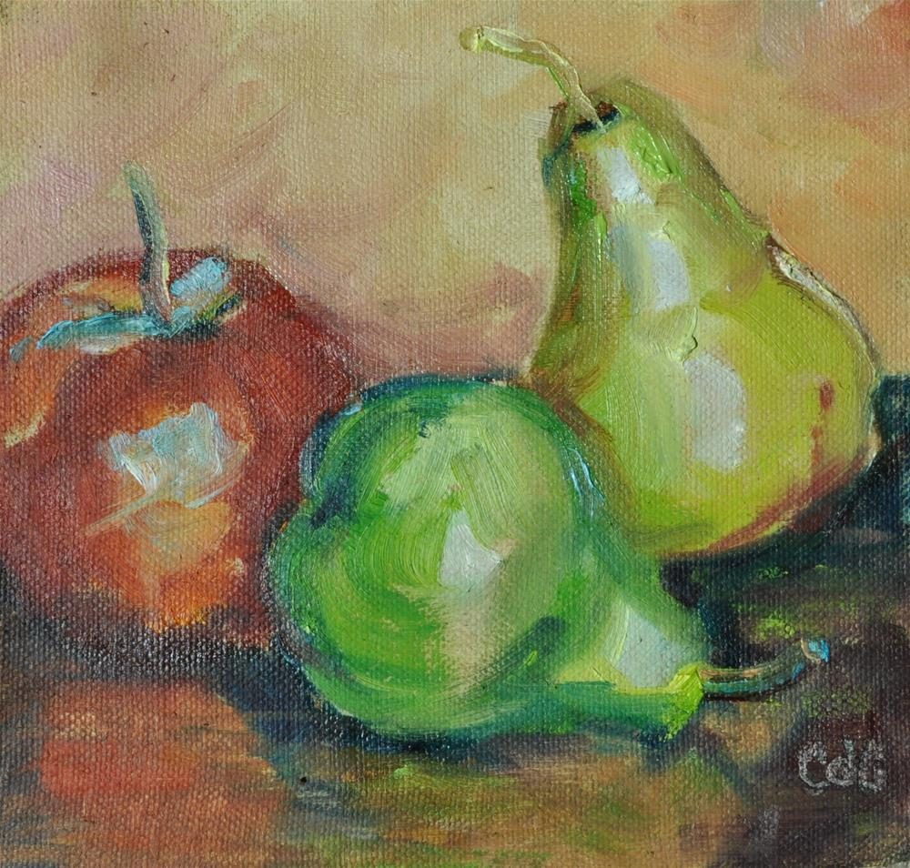 """Value Challenge"" original fine art by Catherine Crookston"