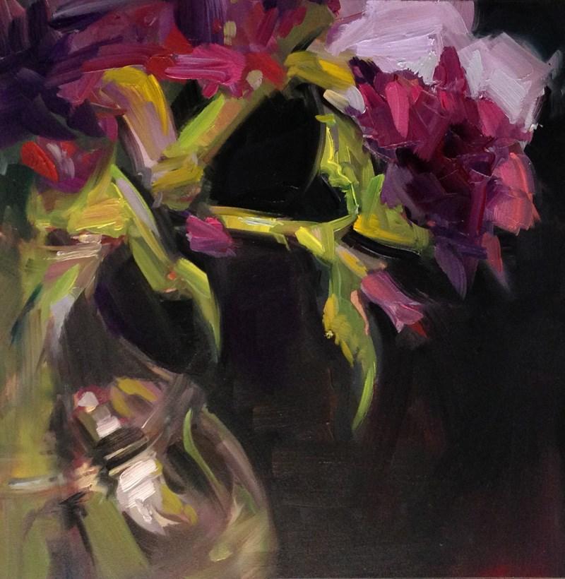 """""""Breaking Away"""" original fine art by Patti McNutt"""