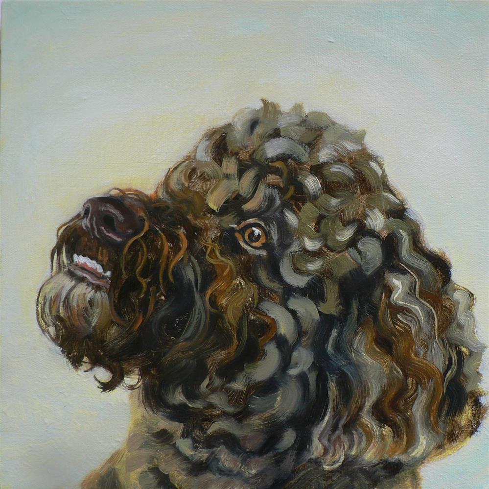 """""""Jake"""" original fine art by Leigh Buchanan"""