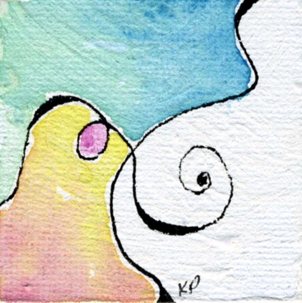 """Take Pleasure in the Adventure"" original fine art by Kali Parsons"
