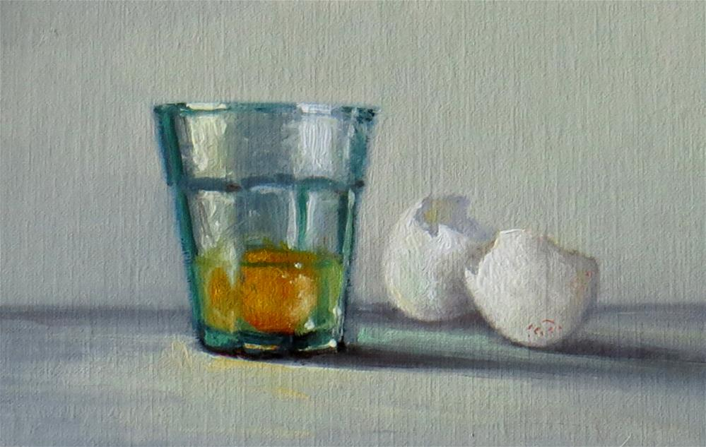 """Still Life with Egg"" original fine art by Darla McDowell"