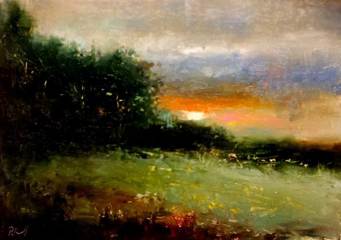 """The Slope"" original fine art by Bob Kimball"