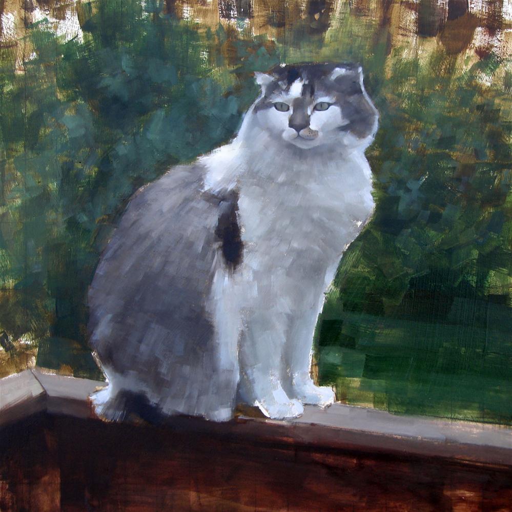 """""""Commission no.2 - Vincent"""" original fine art by Michael William"""