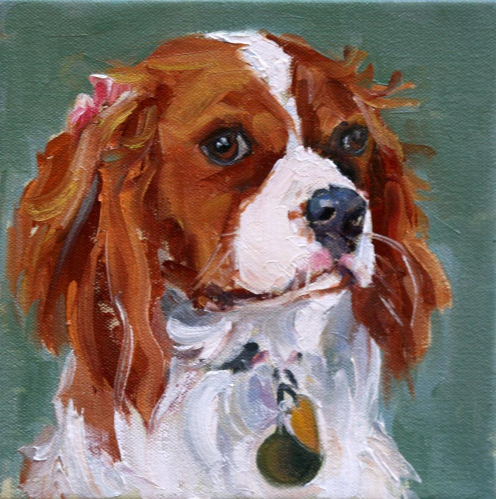 """sage's lucy"" original fine art by Carol Carmichael"