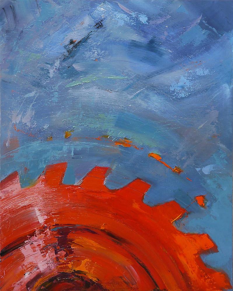"""sunrise"" original fine art by Beata Musial-Tomaszewska"