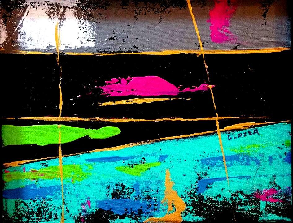 """Beyond the Sunset"" original fine art by Stuart Glazer"