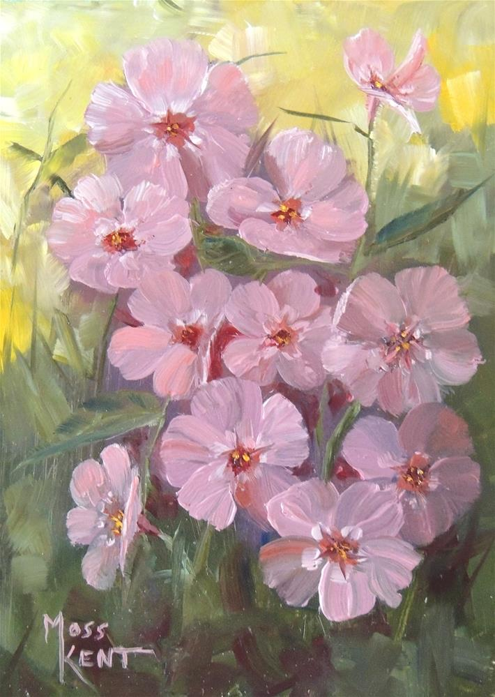 """Gene's Flowers II"" original fine art by Moss Kent"