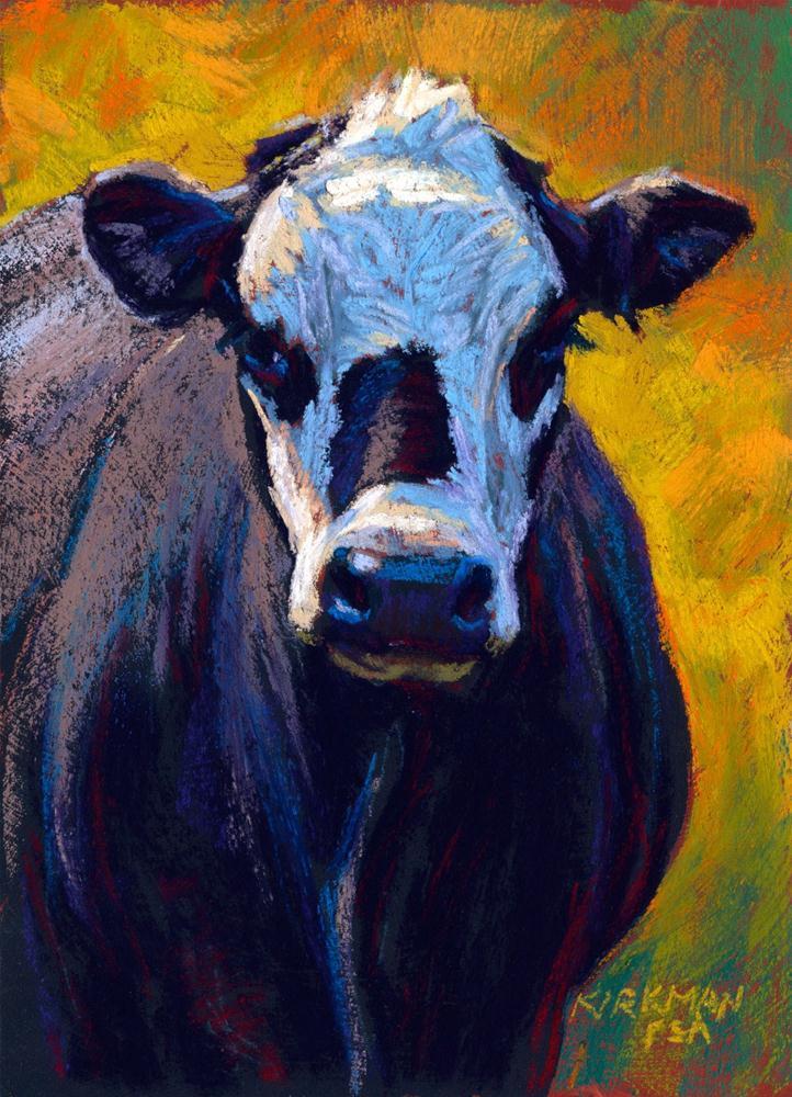 """Inky"" original fine art by Rita Kirkman"