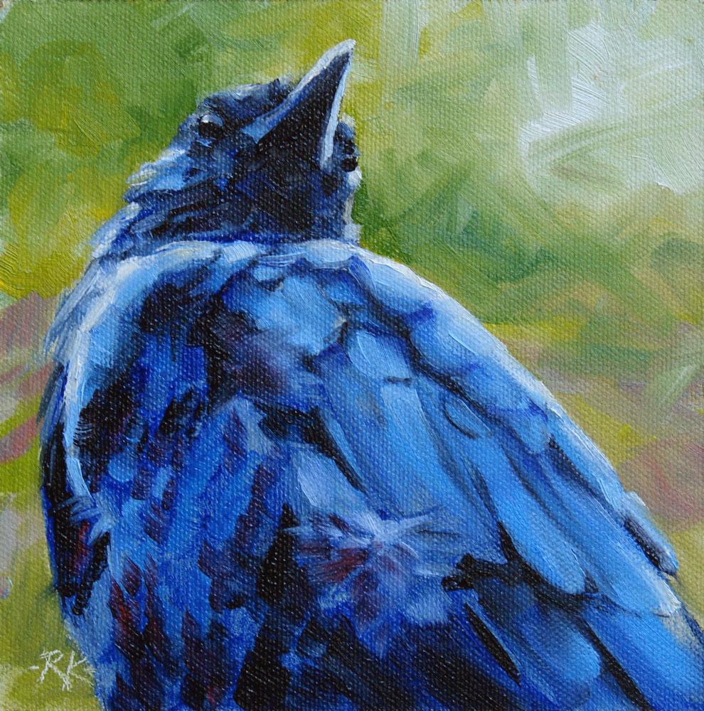 """""""Prey's Eye View"""" original fine art by Rita Kirkman"""