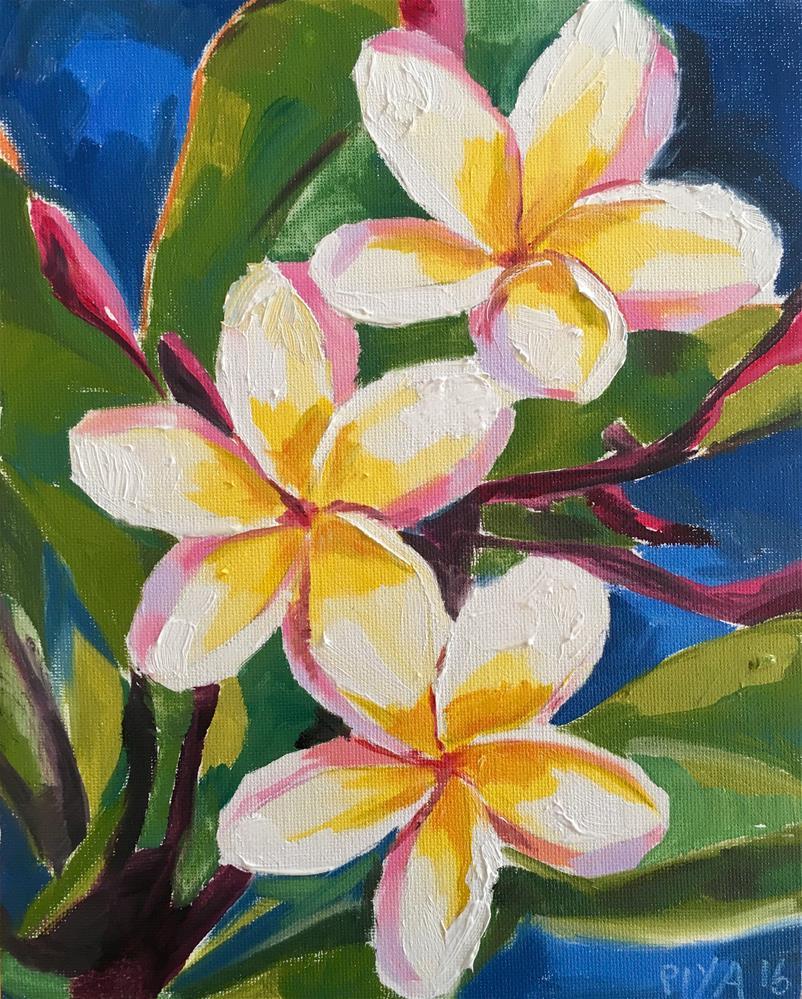 """Island Beauties"" original fine art by Piya Samant"