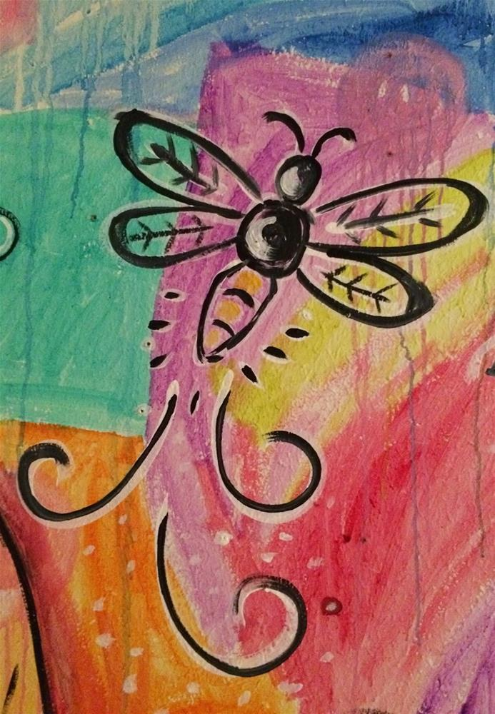 """""""Firefly...Shining from Within"""" original fine art by Kali Parsons"""