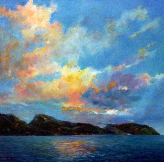 """""""Breathe"""" original fine art by Cathy Boyd"""