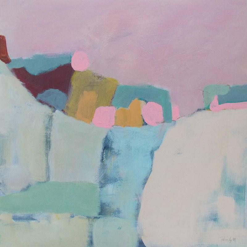 """""""We Lived on the Hill"""" original fine art by Pamela Munger"""