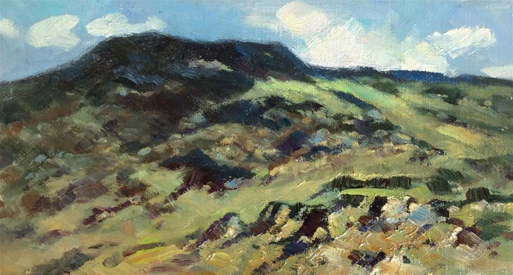 """""""In the Snowdonia National Park"""" original fine art by John Shave"""