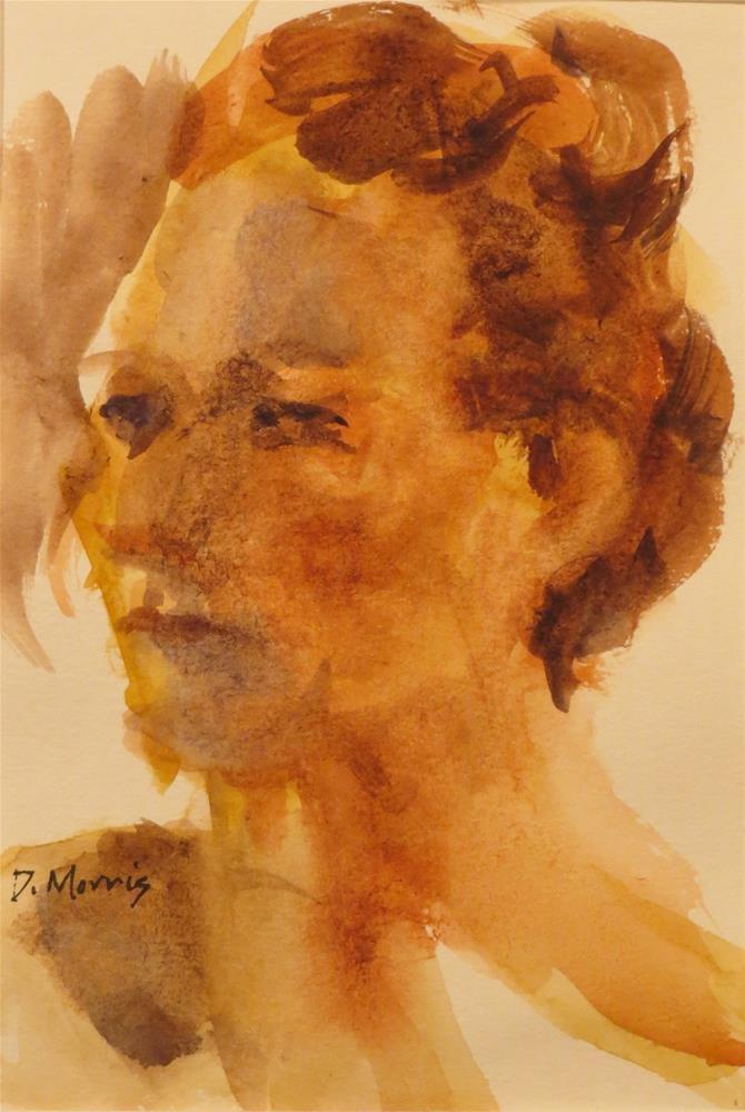 """Gillian"" original fine art by Dann Morris"