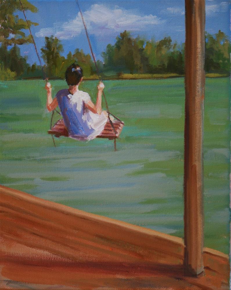 """lake life"" original fine art by Carol Carmichael"